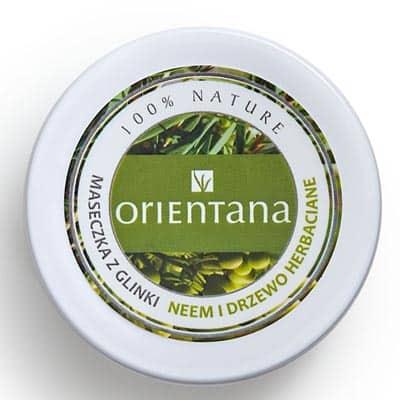Maseczka z glinki Neem i Drzewo Herbaciane 50g Orientana