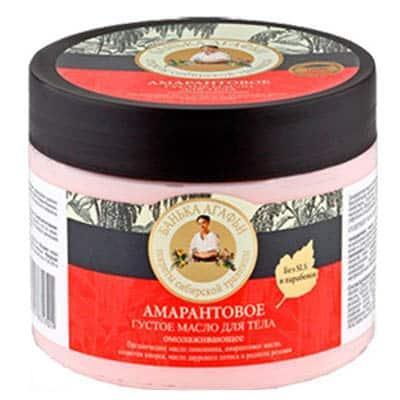 Masło do ciała – odmładzające – amarant, różeniec górski, lotos, cytryniec chiński 300ml