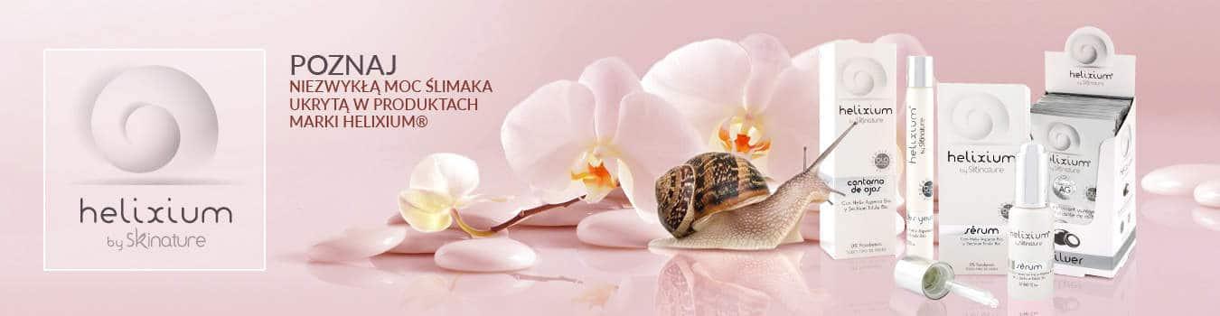 Poznaj niezwykłą moc ślimaka ukrytą w kosmetykach naturalnych marki Helixium.