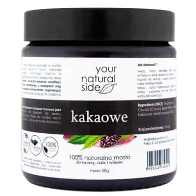 Masło Kakaowe nierafinowane 50ml Your Natural Side