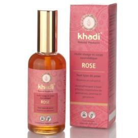 Ajurwedyjski olejek do twarzy i ciała z różowym lotosem 100 ml Khadi