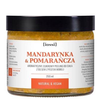 Peeling do ciała Energetyzująca Mandarynka i Pomarańcza 250ml IOSSI