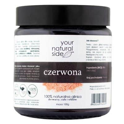 Glinka Czerwona 100g Your Natural Side