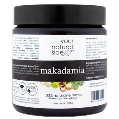 Masło Makadamia 100ml Your Natural Side