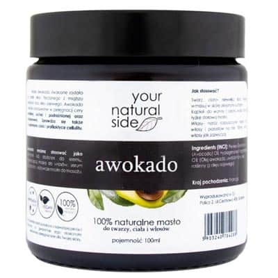 Masło Awokado 100ml Your Natural Side
