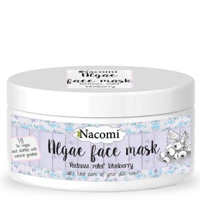Maska algowa z borówką i witaminą C 100ml Nacomi