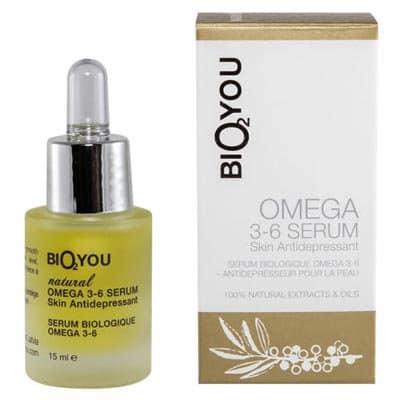 Serum Omega 3-6 z olejami z róży, awokado, makadamia, jojoba i rokitnika 15ml BIO2YOU