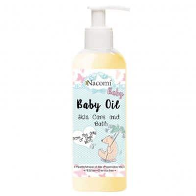Oliwka naturalna dla niemowląt 140ml Nacomi