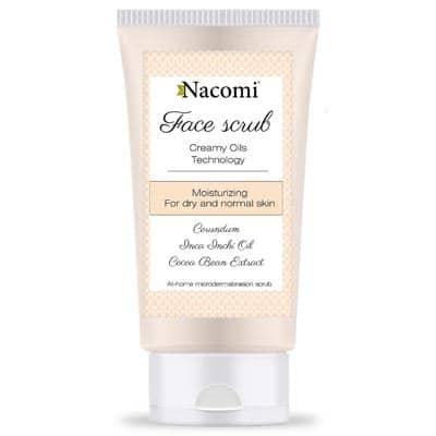 Peeling do twarzy nawilżajacy 75ml Nacomi