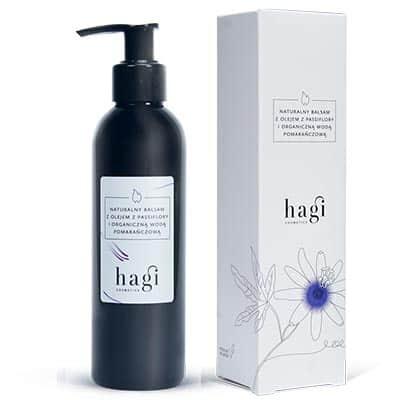 Naturalny balsam z hydrolatem pomarańczowym i olejem z passiflory 200ml HAGI