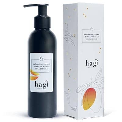 Naturalny balsam z masłem mango i olejem chia 200ml HAGI
