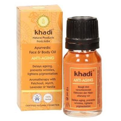 Ajurwedyjski Olejek Przeciwzmarszczkowy 10 ml Khadi