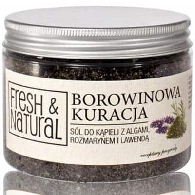 BOROWINOWA KURACJA z algami, rozmarynem i lawendą 500g Fresh&Natural