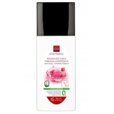 Balsam do ciała – Formuła łagodząca 200ml GoCranberry