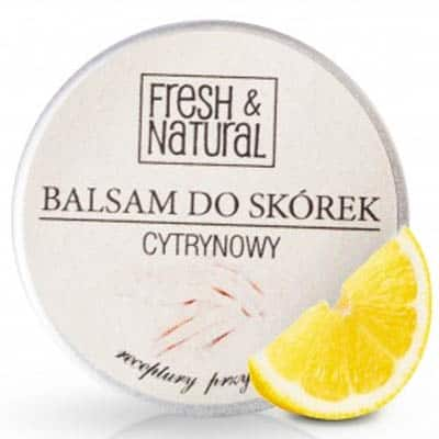 CYTRYNOWY balsam do skórek i paznokci 15ml Fresh&Natural