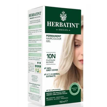 Farba Herbatint 10N Platinum Blond – Platyna 135 ml
