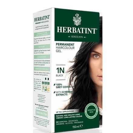 Farba Herbatint 1N Black – Czarny 135 ml