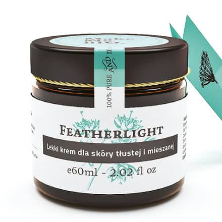 Featherlight – Lekki krem dla skóry tłustej i mieszanej 60ml Make Me Bio