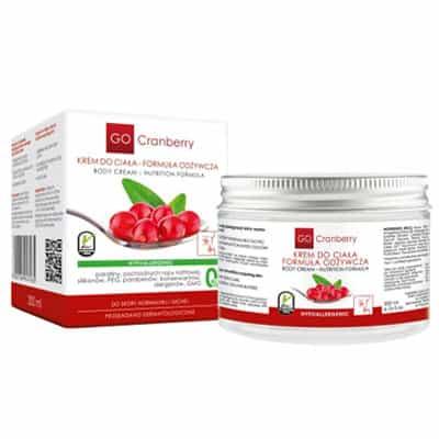 Krem do ciała – Formuła odżywcza 200ml GoCranberry