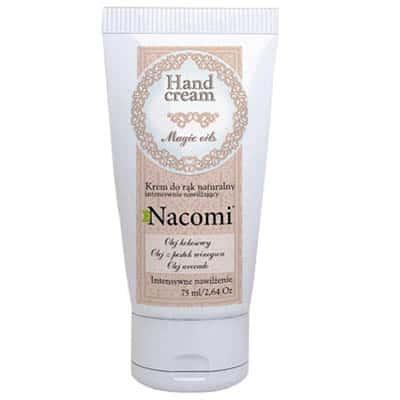 Krem do rąk nawilżający z olejkiem kokosowym 75ml Nacomi