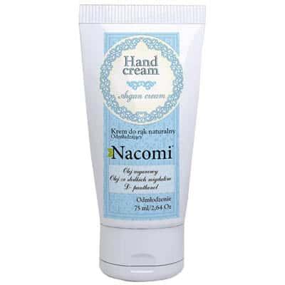 Krem do rąk odmładzający z olejkiem arganowym 75ml Nacomi