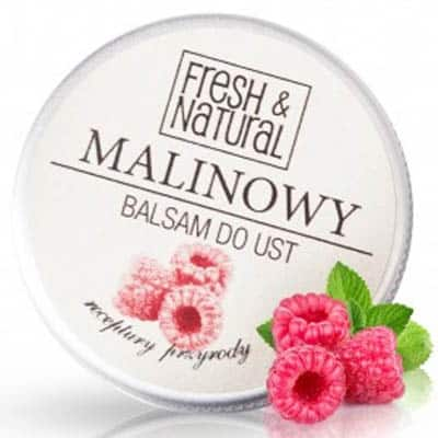 MALINOWY balsam do ust 15ml Fresh&Natural