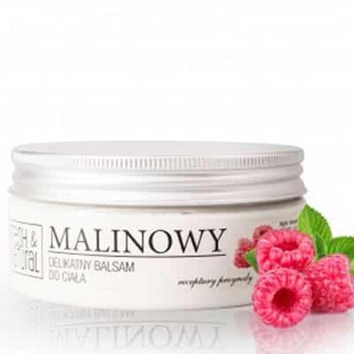 MALINOWY delikatny balsam do ciała 250ml Fresh&Natural