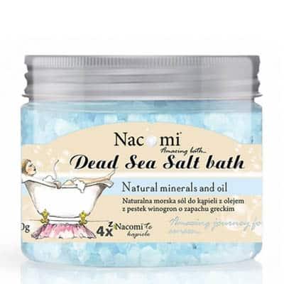 Sól do kąpieli grecka 450g Nacomi