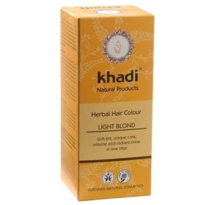 Naturalna Ziołowa Henna do Włosów Jasny Blond 100g Khadi