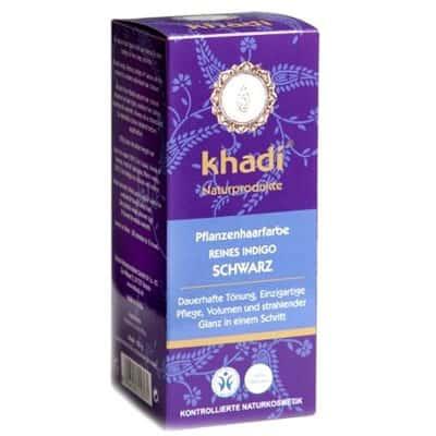 Naturalna Ziołowa Henna do Włosów Indygo 100g Khadi