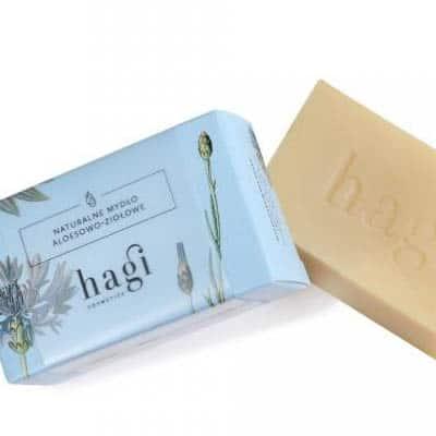 Naturalne mydło aloesowo-ziołowe 100g HAGI