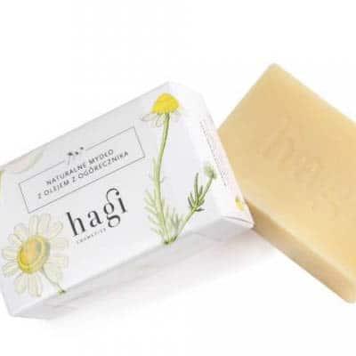 Naturalne mydło z ogórecznikiem 100g HAGI