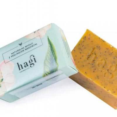 Naturalne mydło z olejem z rokitnika i peelingiem makowym 100g HAGI