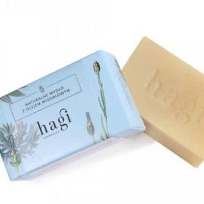 Naturalne mydło z olejem ze słodkich migdałów 100g HAGI