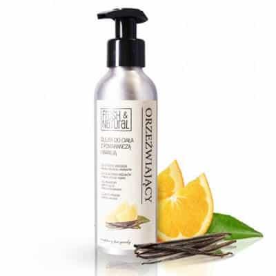 ORZEŹWIAJĄCY olejek do ciała z pomarańczą i wanilią 150ml Fresh&Natural