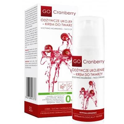 Odżywcze Ukojenie – Krem do Twarzy 50ml GoCranberry