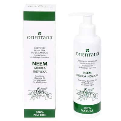 Odżywczy Bio Olejek do demakijażu Neem-Miodla Indyjska 150ml Orientana