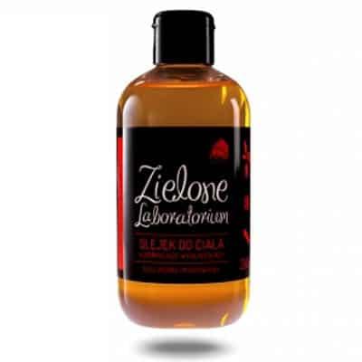 Olejek do ciała ujędrniająco-wygładzający olej jojoba i marchwiowy 250ml Zielone Laboratorium