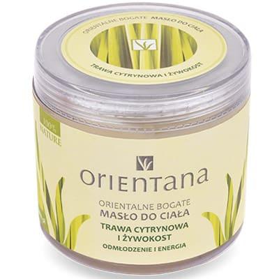 Orientalne bogate masło do ciała Trawa Cytrynowa i Żywokost 100 g Orientana