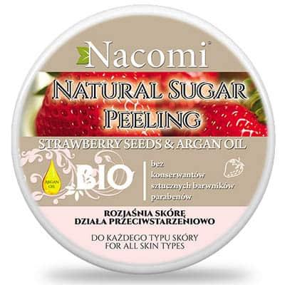 Peeling cukrowy truskawka 100ml Nacomi