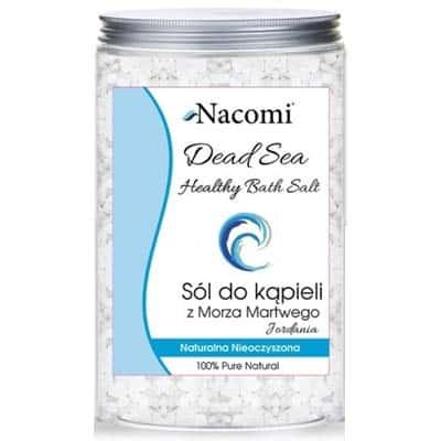 Sól czysta z morza martwego 1400g Nacomi