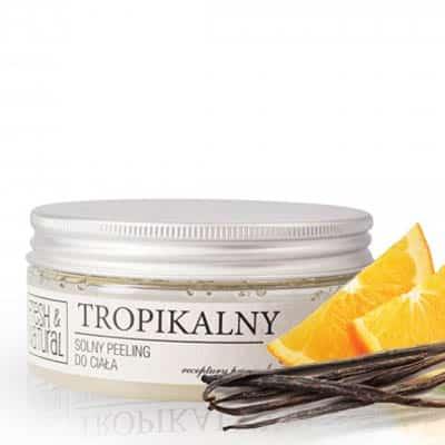Solny peeling do ciała TROPIKALNY 250g Fresh&Natural