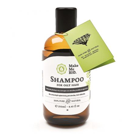 Szampon do włosów przetłuszczających się 250 ml Make Me Bio
