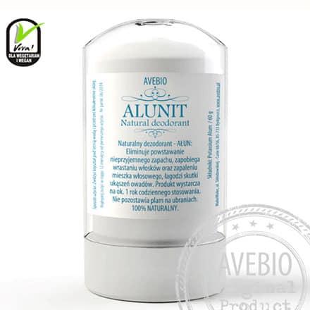 Ałun w sztyfcie – naturalny dezodorant 60g Avebio