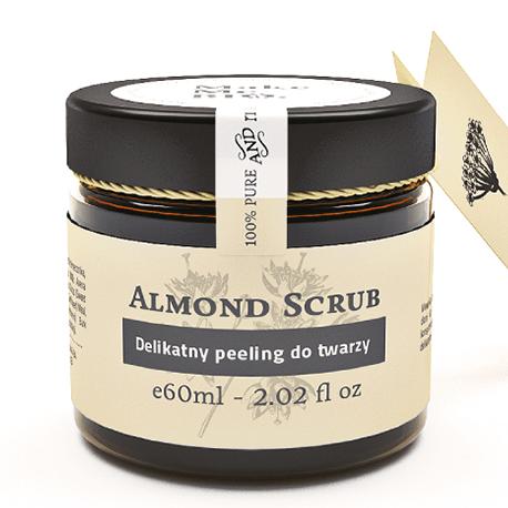 Almond Scrub-delikatny peeling do twarzy 60 ml Make Me Bio
