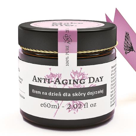 Anti-aging day-krem na dzień dla skóry dojrzałej 60 ml Make Me Bio