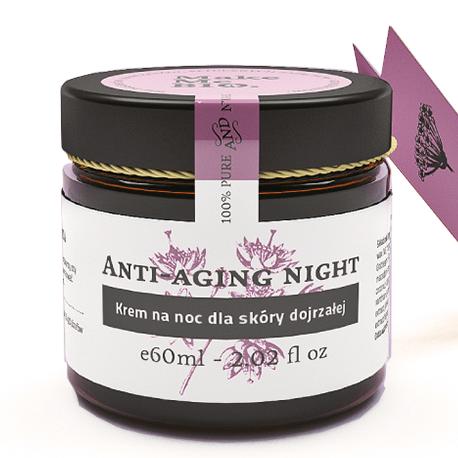 Anti-aging night-krem na noc dla skóry dojrzałej 60 ml Make Me Bio