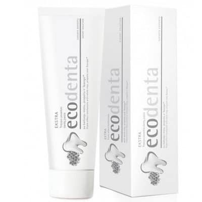 EcoDenta Pasta do zębów potrójny efekt z białą glinką 100ml