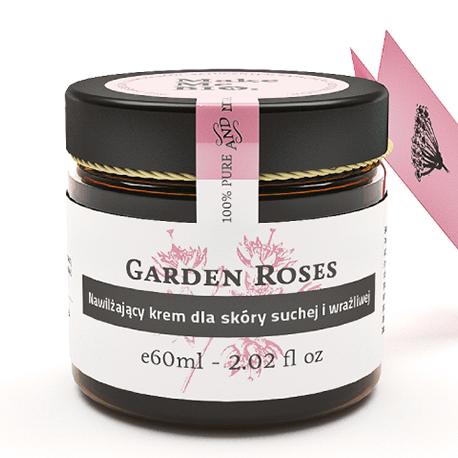 Garden Roses-nawilżający krem do skóry suchej i wrażliwej 60ml Make Me Bio