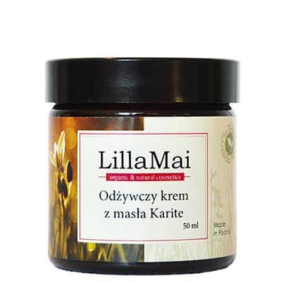 Odżywczy krem z masła Karite 50ml LILLA MAI